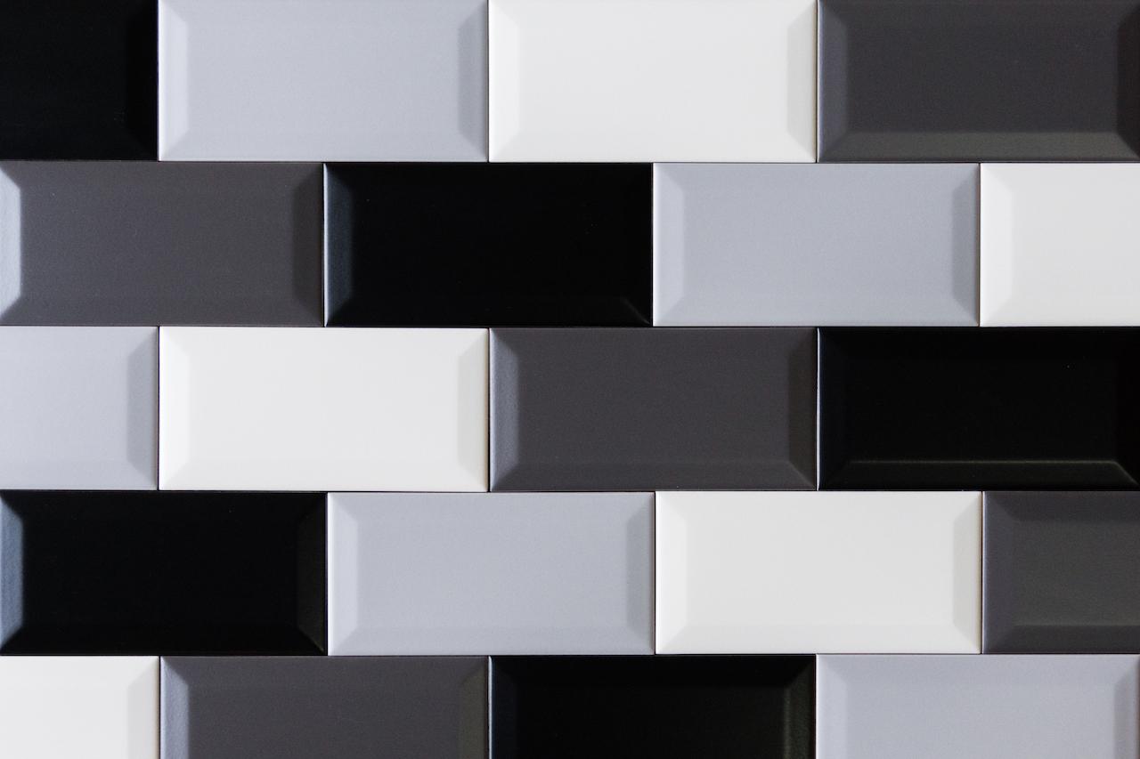 Metro Fliese schwarz matt 7 5x15 BX