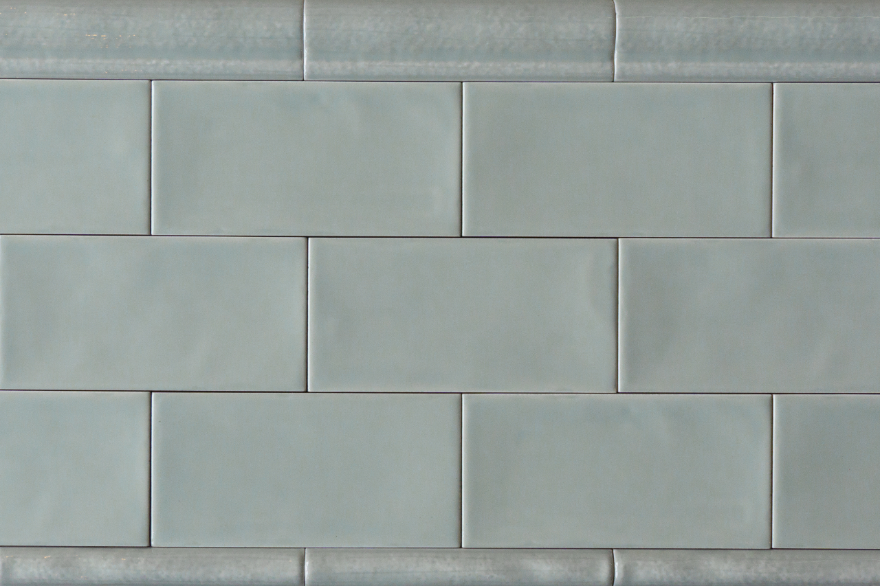 Metro Fliese Grau Grun Gewellt 7 5x15 Jetzt Kaufen Bei Diefliesen Com